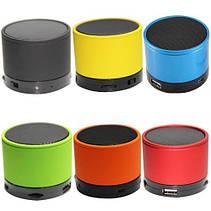 Мини-динамик Bluetooth S10U с FM, USB, MicroSD, AUX металл, фото 3