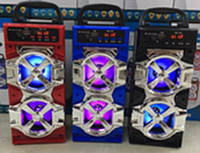 Портативная колонка Bluetooth JHW-QS +FM