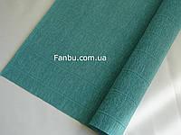 Креп бумага- бирюза(новая коллекция) № 17 Е/4,производство Италия