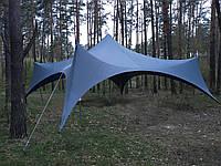 Шатер, 5 мачтовый, большой, на 85кв.метра (легкий)