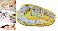 Гнездо для новорожденного 3 в 1 (подушка для беременной, подушка для кормления) + подушка
