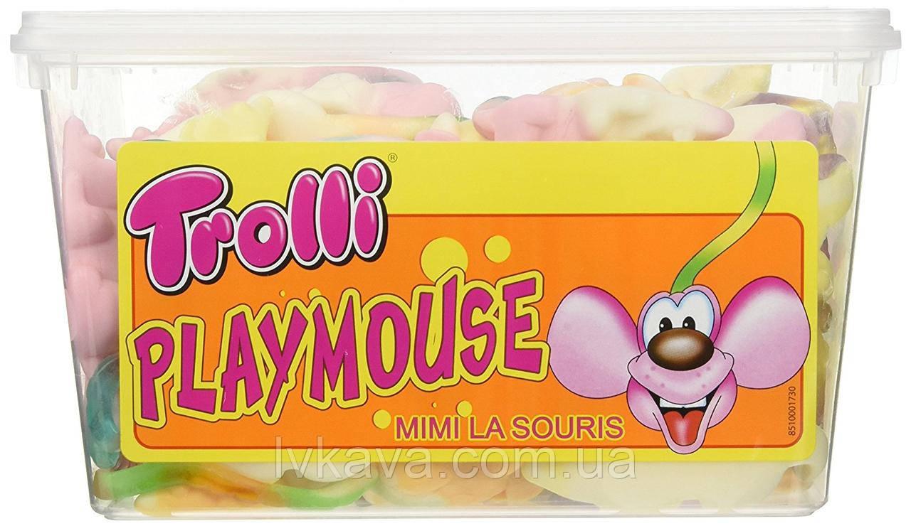 Желейные конфеты Trolli Playmouse  , 1200 гр