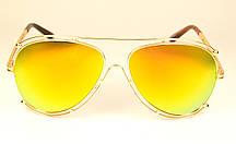 Солнцезащитные очки Авиатор (7003 оранж)