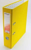 Папка сегрегатор DELTA 7см желтый