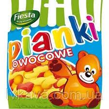 Жевательные конфеты Pianki owocowe , 80 гр