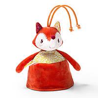 Двусторонняя игрушка-прорезыватель Lilliputiens  лисичка Алиса 86817