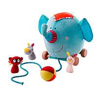 Игрушка-каталка Lilliputiens слоник Альберт  86565