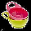 Глубокая тарелка Brother Max для кормления,  розовый/зеленый, 2ед. (71343PG2)