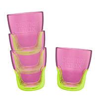 Тренировочный стакан Brother Max, 4 шт. в упаковке,  розовый/зеленый (49800)