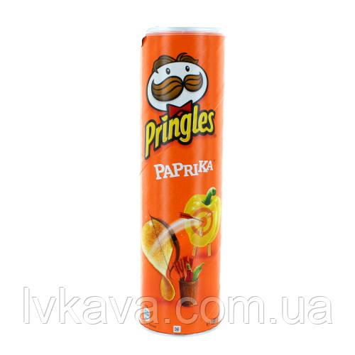 Чипсы  Pringles  Paprika, 165 гр