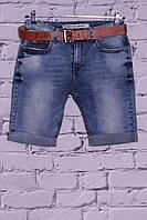 Мужские стильные джинсовые шорты (код 3085)