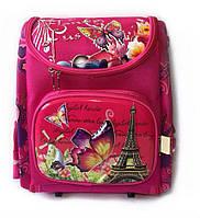 Школьный рюкзак ранец для девочки, короб ортопедический