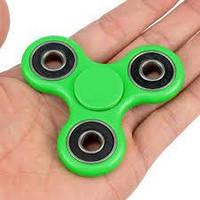 Спиннер Зеленый Fidget Toy, Hand spinner, finger spinner, Вертушка, Хендспиннер фиджет