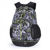 Рюкзак Dolly 354 женский городской на два отдела с рисунком разные цвета 35 см х 46 см х 25 см