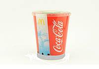 Портативный динамик Coca Cola стакан с подсветкой