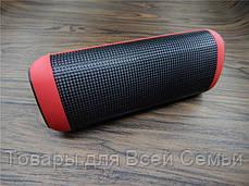 Мини-динамик Bluetooth X2U Pulse 2 (черный, красный, белый, сиреневый), фото 2