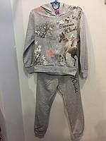 Детский спортивный костюм для девочки 116 см, фото 1