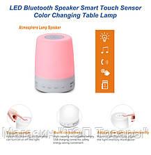 Портативный динамик Bluetooth AJ-99 с подсветкой хамелеон, фото 2