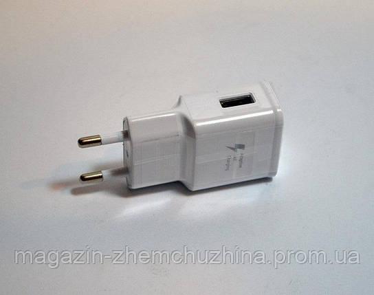 Адаптер Samsung Fast Charger 2A (Travel Adapter), универсальное зарядное устройство, фото 2