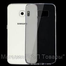 Ультратонкий чехол (TPU) для Samsung Galaxy S6, фото 3
