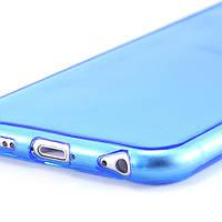 Гибкий прозрачный ТПУ чехол-накладка для iPhone 6