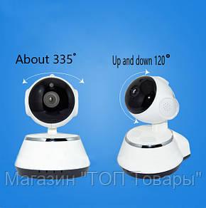 WI-FI IP-камера DL- V3 new (1.0MP - 1280*720P, инфракрасное ночное видение, с вращением, поддержка TF карты, фото 2