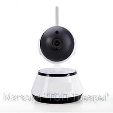 WI-FI IP-камера DL- V3 new (1.0MP - 1280*720P, инфракрасное ночное видение, с вращением, поддержка TF карты, фото 3