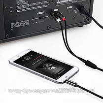 Аудио-кабель 3.5 jack*2RCA 3м CA-1115, фото 3