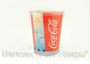 Портативный динамик Coca Cola стакан с подсветкой, фото 2