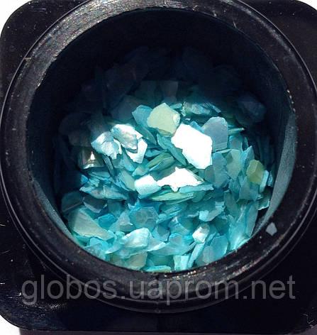 Ракушка натуральная для аквариумного дизайна ногтей RENEE SHELL STONE IN05-09, фото 2