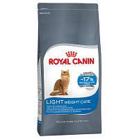 Royal Canin (Роял Канин) Light Weight Care (ЛАЙТ ВЕЙТ КЕАР) сухой малокалорийный корм для взрослых кошек 0.4