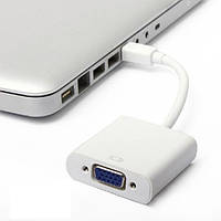 Конвертер с Mini DisplayPort на VGA
