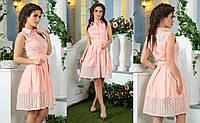 Красивое летнее платье для женщин из ткани прошва