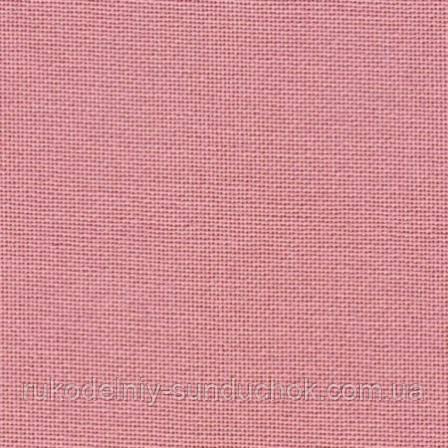 Ткань равномерного переплетения Zweigart Murano Lugana 32 ct. 3984/403 Ash Rose (цвет увядшей розы)