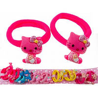 "Резинка ""Hello Kitty"", Микрофибра, (20 шт), О2400"