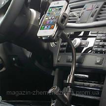 Подставка под Iphone 5 с прикуривателем, фото 3