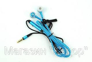 Наушники вакуумные проводные Змейка + Microphone, фото 3