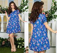 Легкое платье с ткани креп шифон