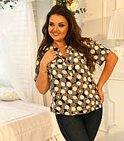 Блуза рубашка для женщин больших размеров