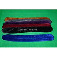 Твистер велюровый, цветной большой, (20 шт), А7832