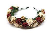 Ободки ручной работы с цветами Розы