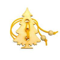 Головоломка веревочная новогодняя «Елочка»