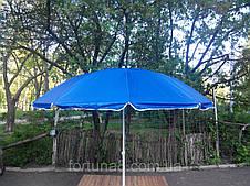 Зонт торговый пляжный с клапаном 2,2м, фото 3