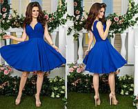 Очень стильное платье для женщин цвета электрик