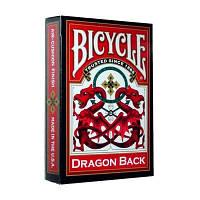 Карты Bicycle Dragon Back (Красные)