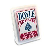 Карты пластиковые прозрачные Hoyle Clear