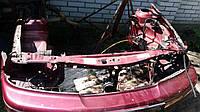 Панель передняя Дэу Нексия / Daewoo Nexia в сборе (обрезанная за стаканами)