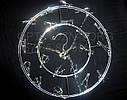 Вешалка-вертушка хромир. круглая., фото 2