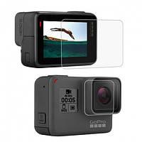 Защитное стекло для экрана и линзы камеры GoPro Hero 5 Black