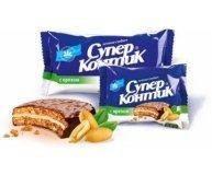 Печенье Супер-Контик с орехом в глазури 100г
